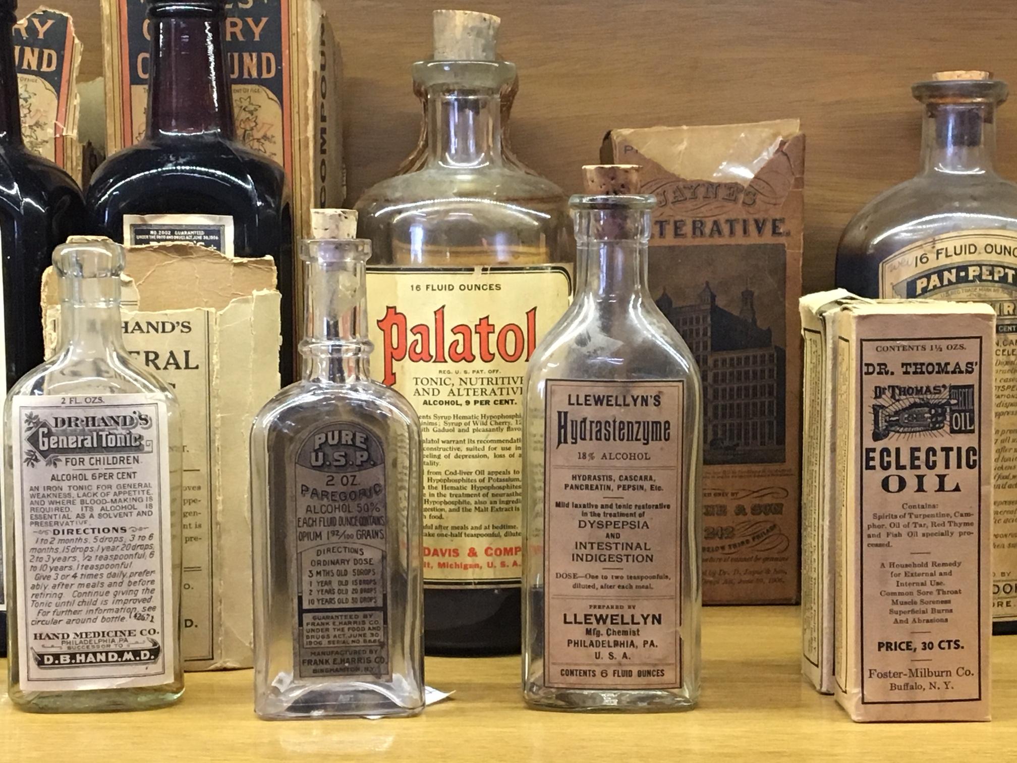 Liquid Patent Medicines – Pharmacy Museum Nevada